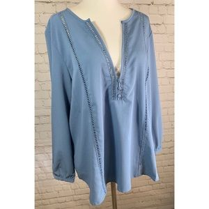 NWT Amuse Society Beach Vida Bling Blouse